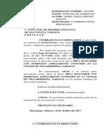 DEVOLUCION OFICIO CONRRADO