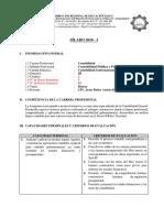 Silabus de Contabilidad Gubernamental I-20181