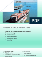 Ships and Classification of Merchant Ships