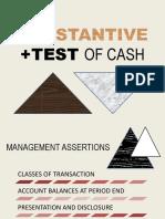 Substantive Test of Cash