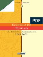Economia Do Turismo 2003_2009