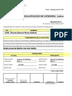 Recalificacion Ricardo Rivera Gallardo