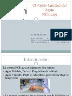Curso  Calidad Del Agua Potable NCH 409