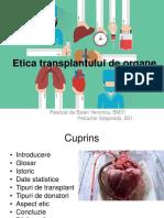 Etica Transplantului de Organe (1)