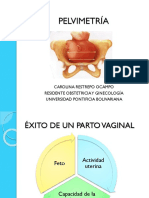 CLASE PELVIMETRÍA PREGRADO