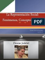 La Representación Social