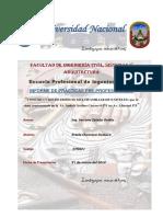 Informe de Practicas Santa Victoria