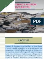 Capacitacion Gestion Documental y Archivo