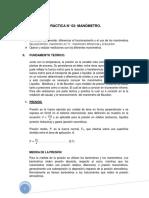 Practica n2 de Mecanica de Fluido