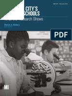 New York City's Charter Schools