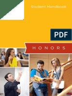 Honors Handbook Student