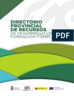 Directorio Provincial de Recursos de Desarrollo Local Formacion y Empleo
