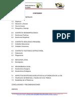 Informe de Geología y Geotecnia