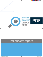 Greek Debt Truth Committee Preliminary Report, June 2015