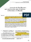 Tiempo y Narracion de Paul Ricoeur Una c