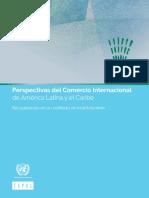 Comisión Económica para América Latina y el Caribe (CEPAL),  Perspectivas del Comercio Internacional  de América Latina y el Caribe, 2017  (LC/PUB.2017/22-P), Santiago, 2017