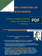 Teorías Cognitivas de La Inteligencia