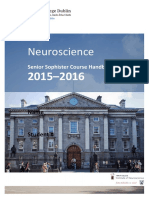 SS Neuroscience Booklet 2015-16