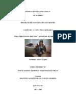Modelo de Proyecto Programa de Participación Estudiantil