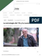 La Estrategia Del 1% y La Nuestra – EcuadorToday