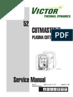 CutMaster 52 - Service Manual - 0-4962