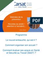 Accueil Des Nouveaux Embauches 23042015