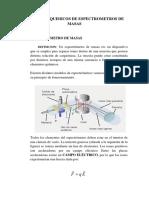 Principios Quimicos de Espectrometros de Masas