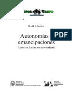 Zibechi, Raul - Autonomias Y Emancipaciones America Latina en Movimiento