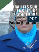 FATIHA REGRAGUI-Generalites Sur La Science Economique-[Atramenta.net]