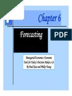 Chapter 6 Forecasting-Sauqi