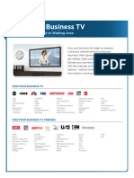 Spectrum Business Channel Lineup