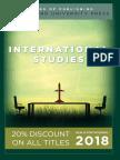 International Studies 2018 Catalog