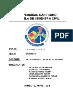 Informe de Concreto i Concreto