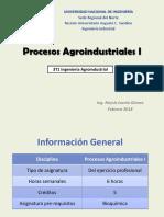 Unidad I_ Procesos Agroindustriales I_Tema 1