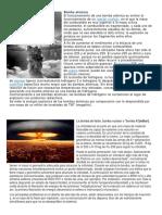 Bomba Atómica y Atomica