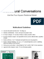 4-Square Relational Model
