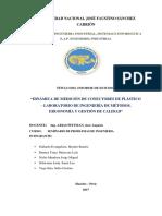 Informe Final Conectores de Plástico.