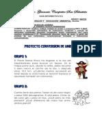 Proyecto Conversion de Unidades