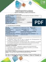 Guía de Actividades y Rubrica de Evaluación Etapa 1 - Revision de Presaberes