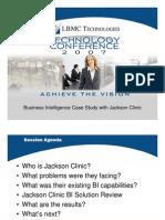 Business Intelligence Case Study Jackson Clinic