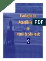Evolução acessibilidade CPTM