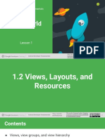 Views Layouts and Resources