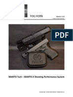 MANTIS TECH -MANTIS X Shooting Performance System
