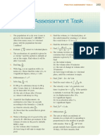 Practice Assessment Task Set 2