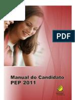 Manualcand PEP 2011