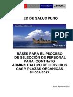 Bases Concurso Personal Cas y Organicas Nº 003 _2017