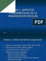 Aspectos Fundamentales de La Organizacin Escolar