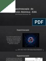 Espectroscopía Atómica
