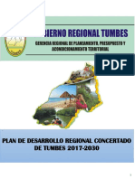 Plano Modelo Deseado Del Territorio