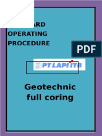 Sop Geotechnic Wellsite